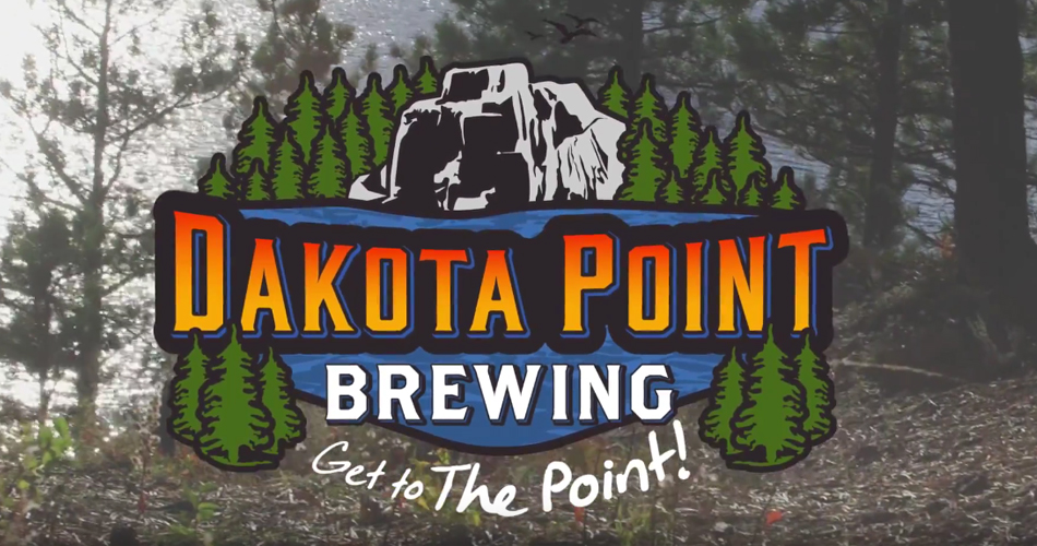 Screen shot of Dakota Point Brewing video.