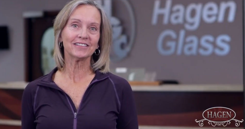 Screen shot of Hagen Glass - We Trust Hagen Glass video.