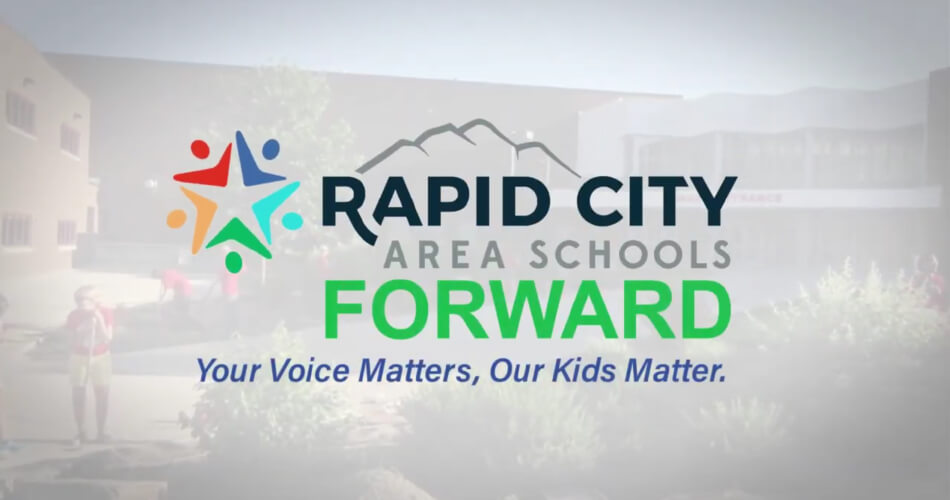 Screen shot of Rapid City Area Schools video.