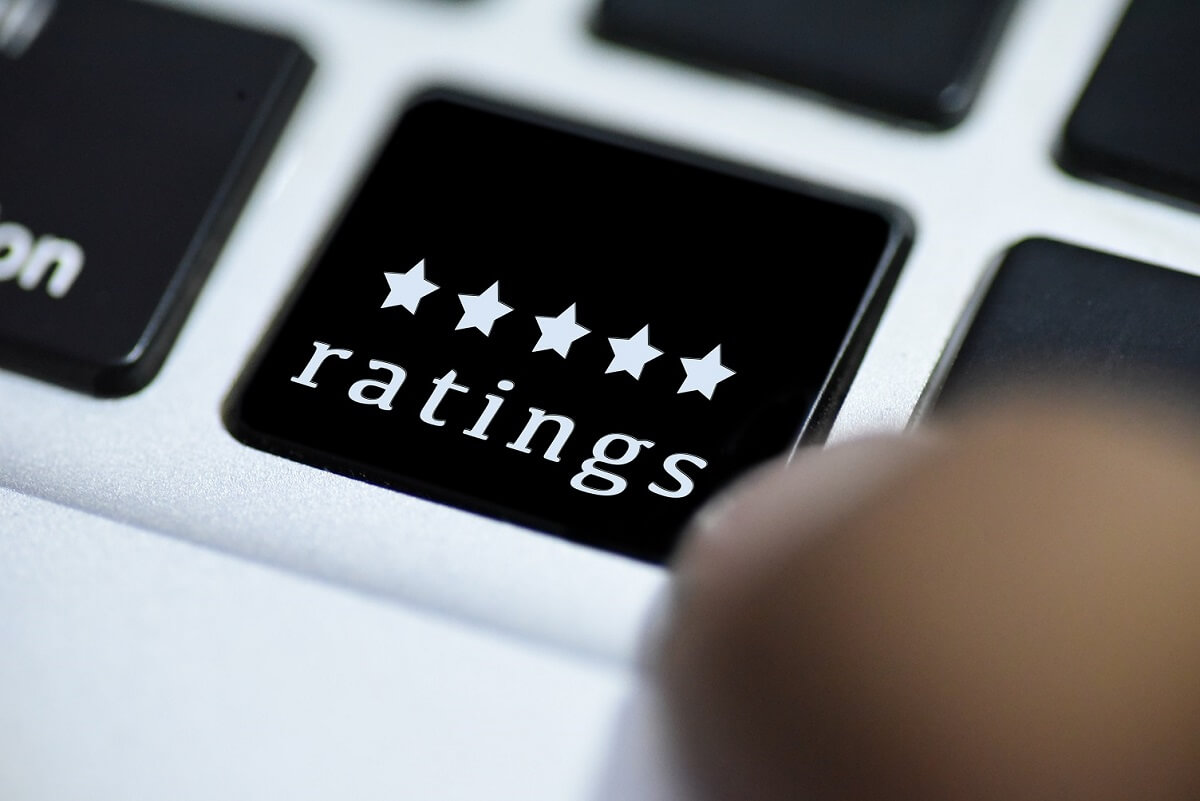 Reputation Management - star ratings